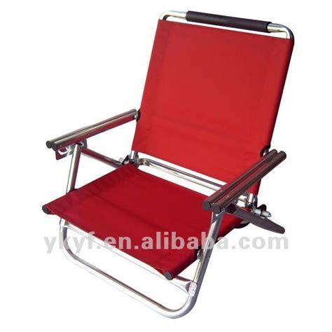 siege de plage pliable bas plage de siège chaise avec réglable