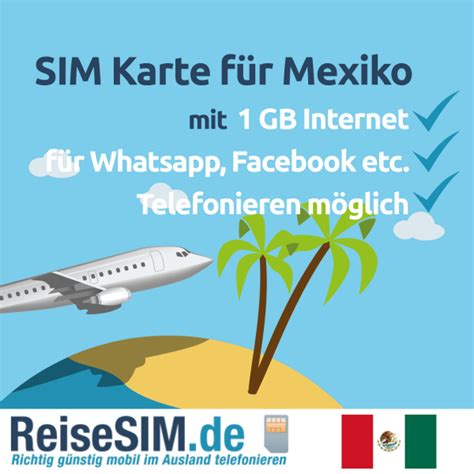 mexiko sim karte mit  gb internet