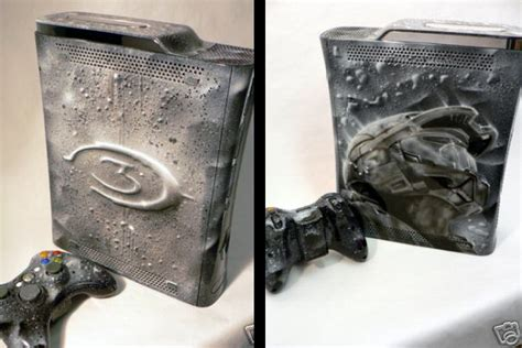Custom Painted Halo 3 Xbox 360 Available On Ebay Wired
