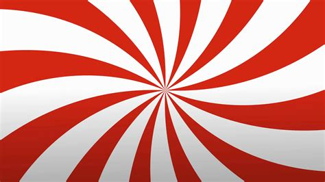 Retro Radial Red And White Pattern Circus Inspired Retro