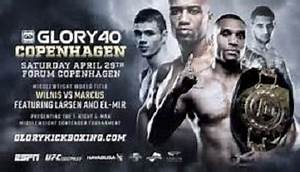 Glory 40 Copenhagen live stream and fight card this ...