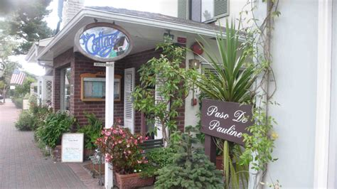 Cottage Style Restaurants by The Cottage Restaurant By The Sea Ca California