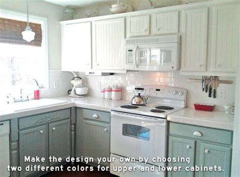 kitchen  top cabinets  color