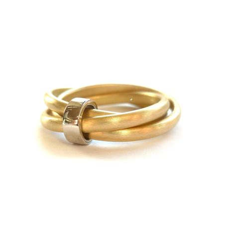 russian style wedding ring modern two tone 18ct gold russian style wedding ring sue