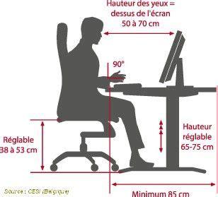 ergonomie bureau ordinateur ergonomie photo de travail sur ecran quot la gazette du