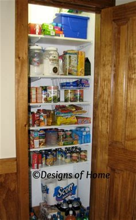 turn an coat closet into a much needed pantry