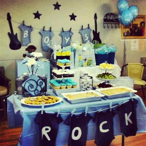 rock baby shower decorations 1000 images about baby shower ideas for greyson on baby shower themes boys and