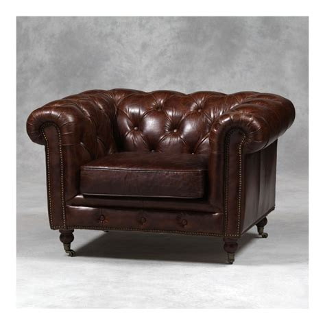 Leather Chesterfield Armchair by Find Vintage Leather Chesterfield Buy Distressed Armchair
