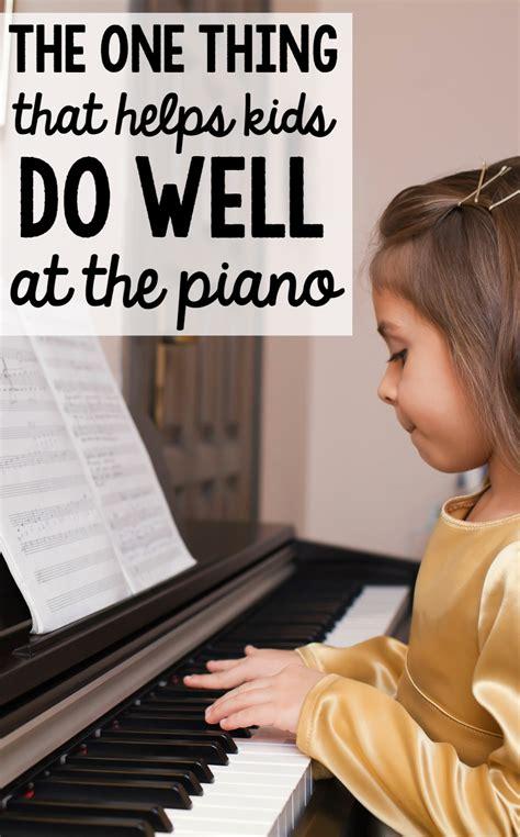 kids learn piano  measured mom