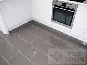 Kitchen Floor Tile with Grey