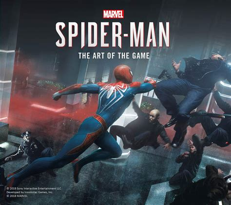 Marvels Spider Man The Art Of The Game Collectors Prime