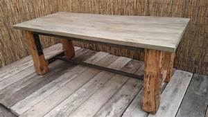 Tisch eiche rustikal massiv handgefertigt in frankfurt for Tisch eiche rustikal