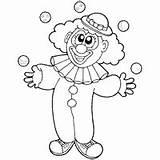 Clown Outline Juggling Coloring Clipart Surfnetkids Circus Clowns Colouring Clip Preschool Sheets Sketch Letters Trapeze Artist sketch template