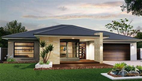 great family home houseland arkhitektura sovremennye fasady doma bungalo