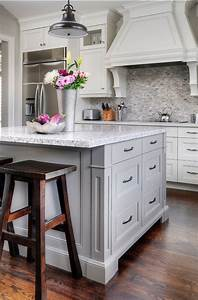 17 best ideas about white grey kitchens on pinterest With kitchen colors with white cabinets with custom photo stickers
