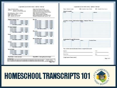 free homeschool transcript template high school transcript template peerpex