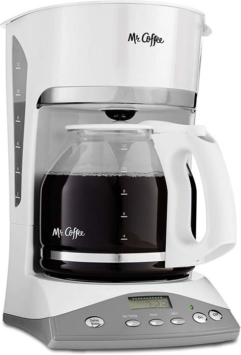 Brewing coffee now, brewing coffee later (delay brew), cleaning and maintaining your coffeemaker. Mr. Coffee SKX20 Simple Brew 12-Cup Programmable Coffee ...