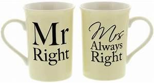 Mrs Always Right : mr right and mrs always right mug set at mighty ape nz ~ Eleganceandgraceweddings.com Haus und Dekorationen