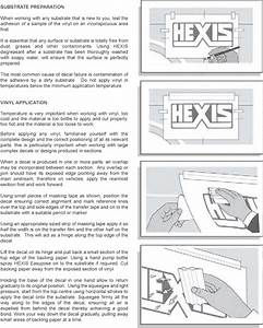 Application Instructions   Car Stickers  U0026 Car Graphics
