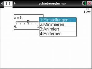 Buchstabenwert Berechnen : schieberegler einf gen und verwenden onlinekompendium zum ti nspire cx cas des imbf ~ Themetempest.com Abrechnung