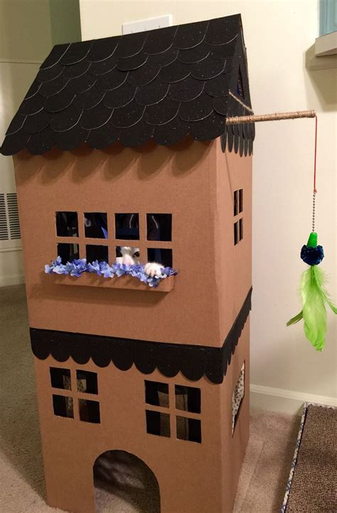 How To Build An Easy Cat House  Google Search Cat