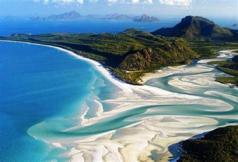 Whitehaven Beach Queensland Australia Famous Destinations