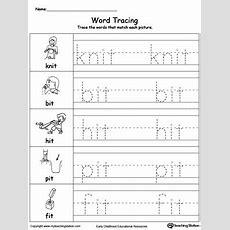 Word Tracing It Words Myteachingstationcom