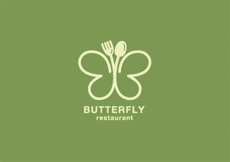 colorful butterfly logo designs ideas examples