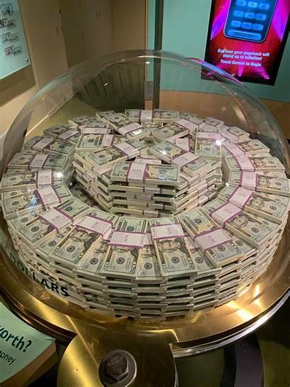 Million Dollars Money Case Chicago Bills Museum