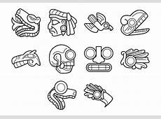 Vector símbolo azteca Descargue Gráficos y Vectores Gratis
