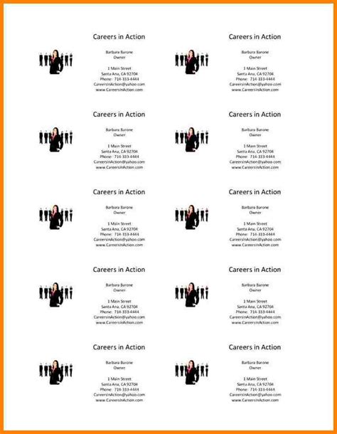 microsoft word business card template introduction letter
