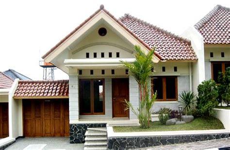 desain rumah minimalis tampak  atas foto  gambar