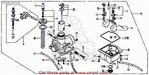 Honda Mt125 Elsinore 1974 K0 Usa Carburetor