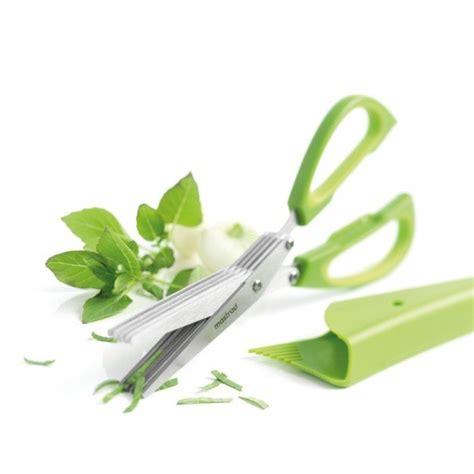 ciseau cuisine ciseaux a herbes 5 lames mastrad maspatule com