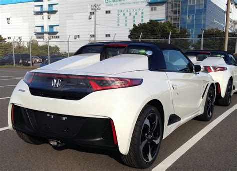 New Honda S660 Roadster Scooped Undisguised In Production