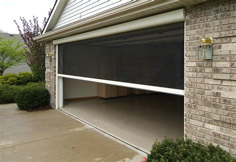 The Benefits Of A Garage Door Screen  R&s Erection Of Concord