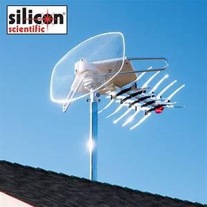 Silicon Scientific Tv Remote Control Rotating Antenna