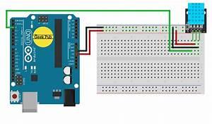 Digital Temperature Sensor Wiring Diagram