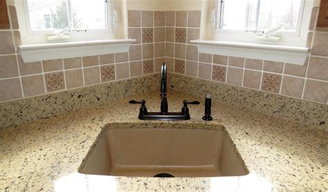 kitchen faucets for granite countertops kitchen best undermount sinks for granite countertops