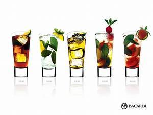 Bacardi Cocktails Backgrounds Presnetation - PPT