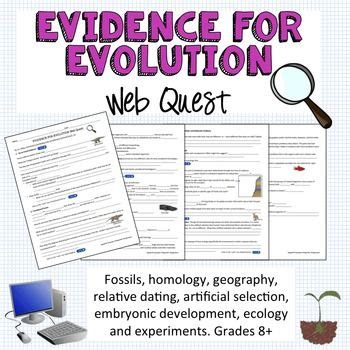 The skulk is a very agile yet delicate quadruped. Evidence for Evolution Webquest | Everything, Student and Curriculum