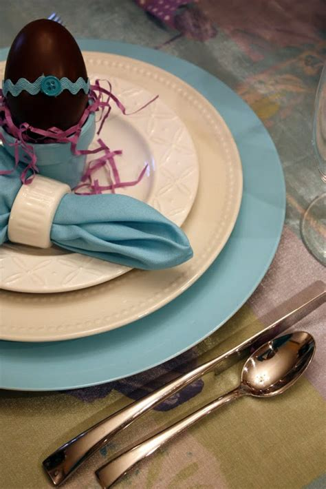 sweet  designs easter tablescape