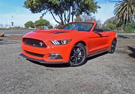 2016 Ford Mustang Gt Convertible Test Drive Nikjmilescom