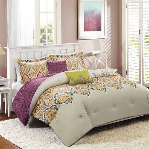 better homes and gardens quilt sets better homes and gardens kashmir 5 bedding comforter