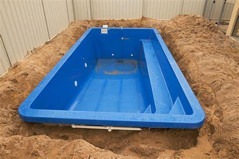 Pool In Erde Einbauen by Pool Im Boden Einbauen Wohn Design