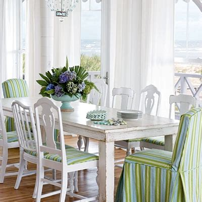 beach kitchen table and chairs distressed painted furniture ideas for a coastal beach