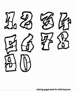 Permanent Link to : graffiti sketches numbers | Alphabet ...