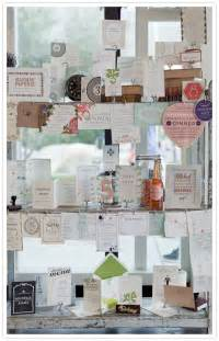 Wedding Invitation Display Idea