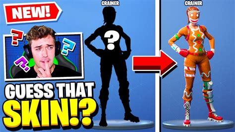 guess  fortnite skin challenge youtube