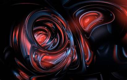Abstract Flows Glassy Form Transparent Wallpapers Dog